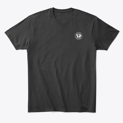 Honi Soit Qui Mal Y Pense Black T-Shirt Front