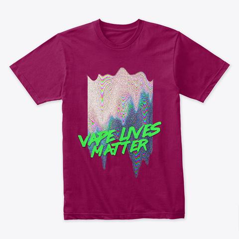 Vape Lives Cardinal T-Shirt Front