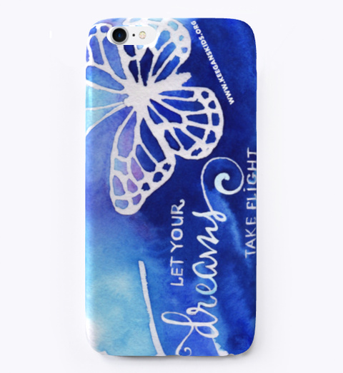 Keegan's Kids Phone Case Light Blue T-Shirt Front