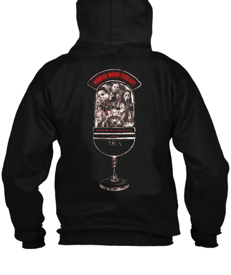 """Hmp """"Icon"""" Hoodie By Peter Strain Black Suéter Back"""