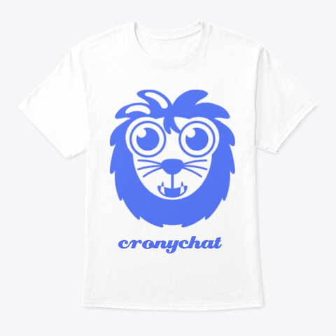 Cronychat Store White T-Shirt Front