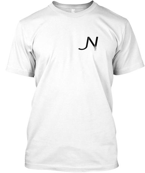 Jn White Tee White T-Shirt Front
