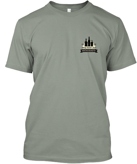 Enthusiasts Grey T-Shirt Front