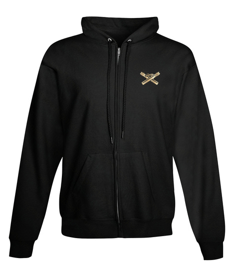 Welder Zipper Hoodie Christmas Spl Black T-Shirt Front