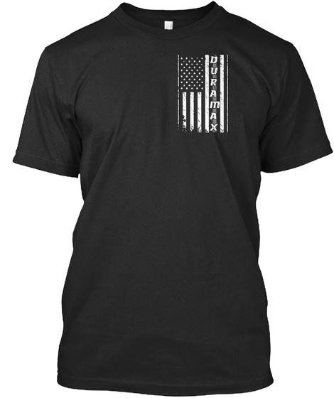 Duramax Black T-Shirt Front