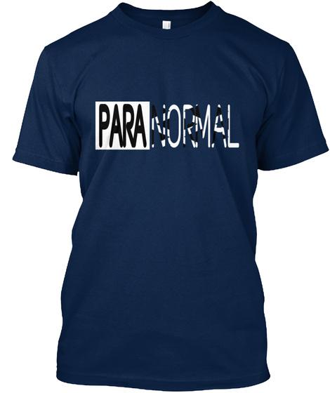 Paranormal Navy T-Shirt Front