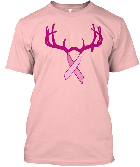 Save A Rack And Help Stop Breast Cancer Pale Pink T-Shirt Front