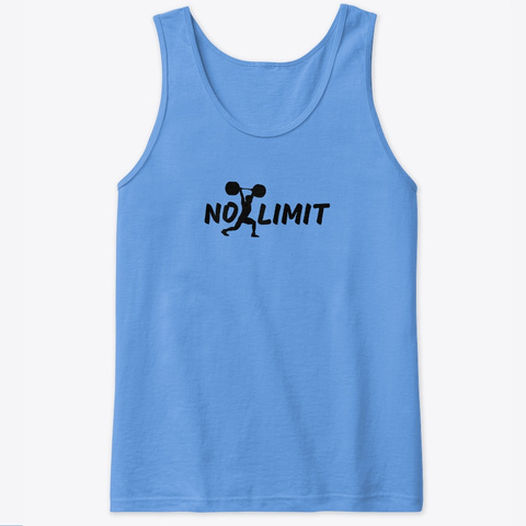 No Limit  Carolina Blue T-Shirt Front