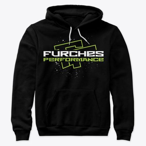 Og Furches Performance Unisex Hoodie Black Camiseta Front