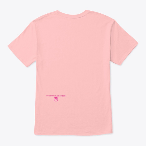 Art Is An Illusion Pale Pink T-Shirt Back