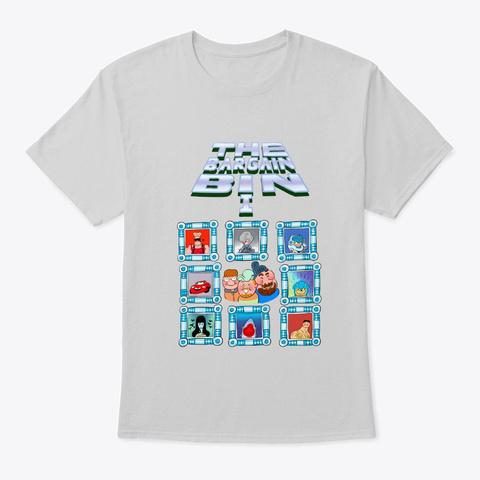Bargain Bin: Volume 1 Light Steel T-Shirt Front