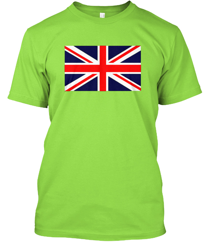 Easy-care-Union-Jack-Flag-Great-Britain-England-Hanes-Tagless-Tee-T-Shirt