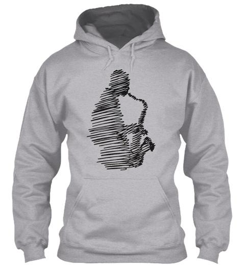Saxophone Man Decode Sport Grey T-Shirt Front
