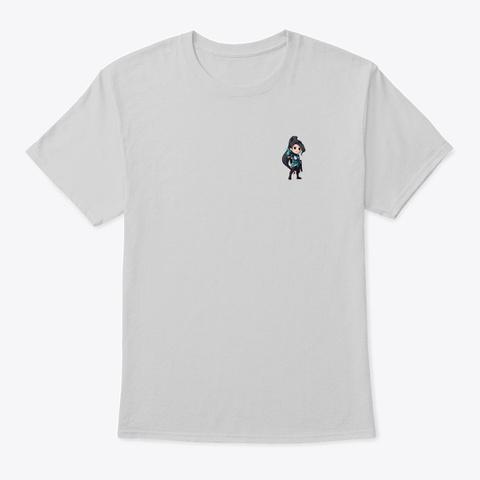 Gamer Bias Sage Light Steel T-Shirt Front