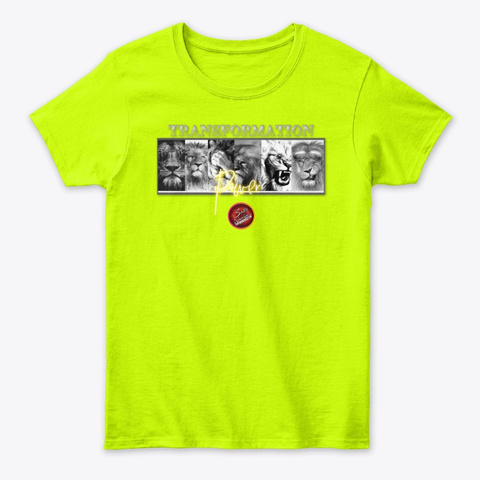 Transformation Safety Green T-Shirt Front
