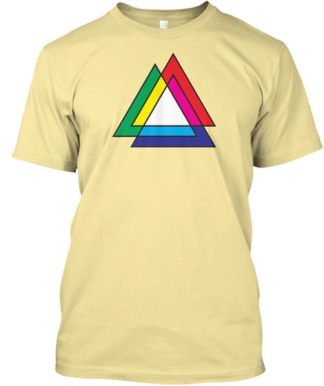 Tri Venn Banana Cream T-Shirt Front