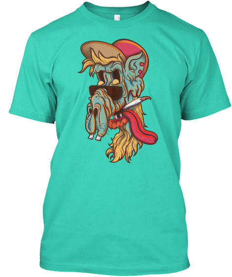 Old Skul Dude Mint T-Shirt Front