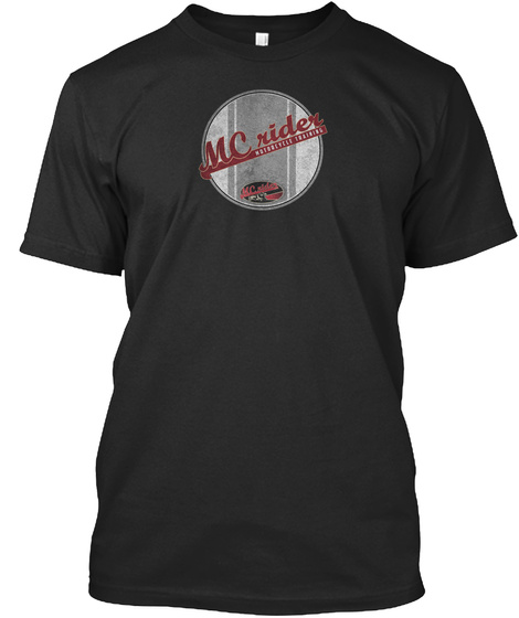 Mc Rider Black T-Shirt Front