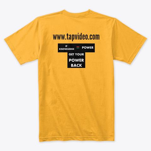 Trans Atlantic Productions Gold T-Shirt Back