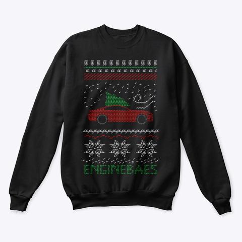 """Ugly"" Sweater Muscle Class Fm Black Sweatshirt Front"