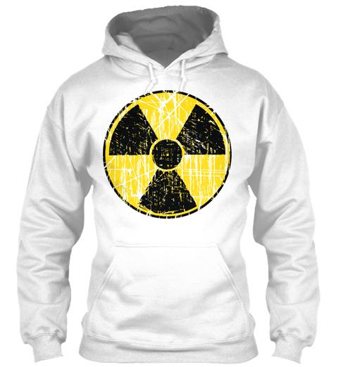 Radioactive White T-Shirt Front