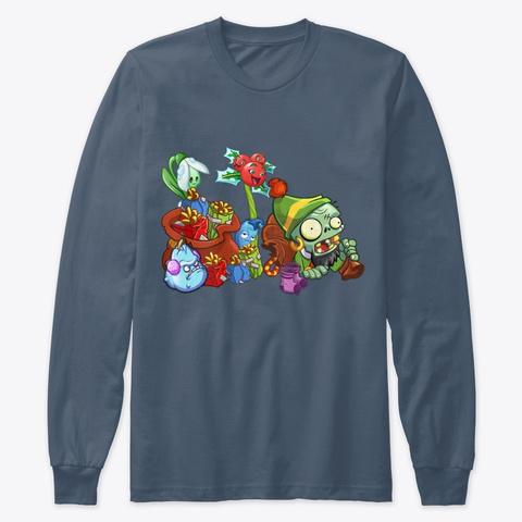 The Ultimate Christmas / Winter Merch Indigo T-Shirt Front