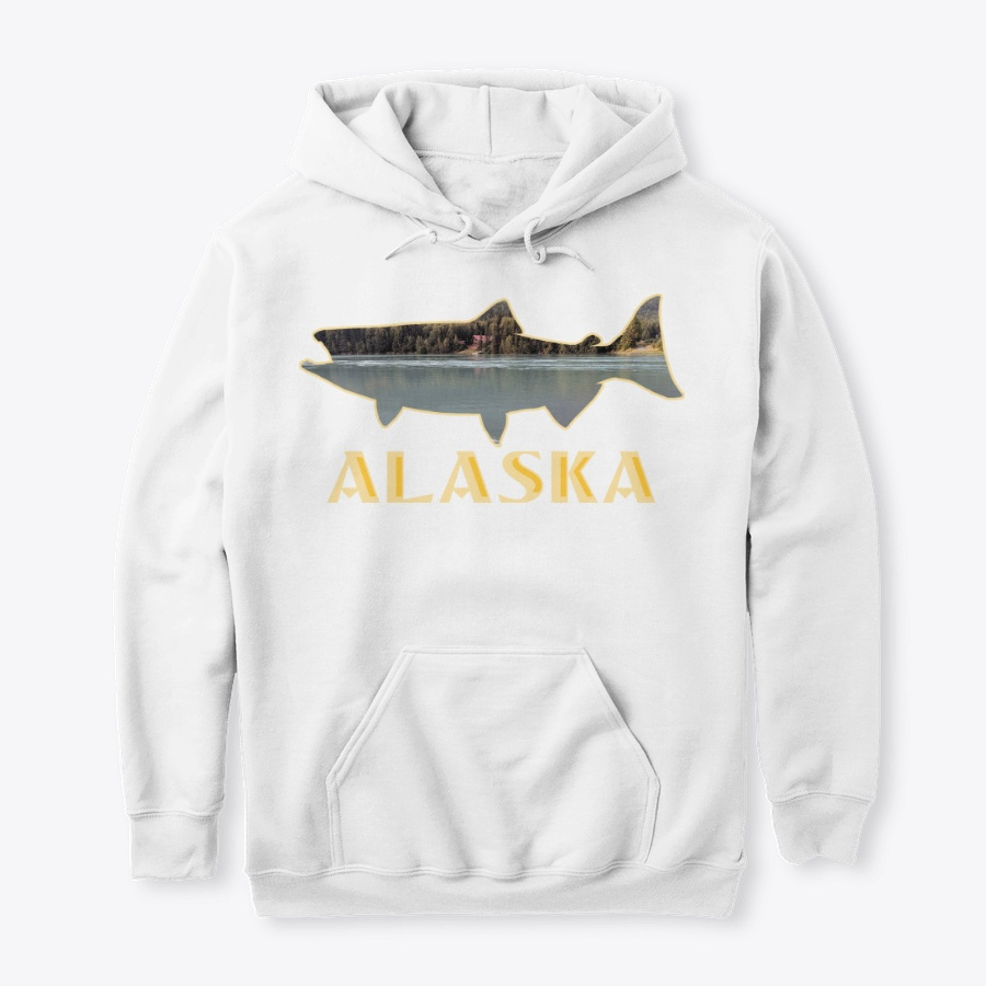 Alaska King Salmon Fishing Vacation LongSleeve Tee