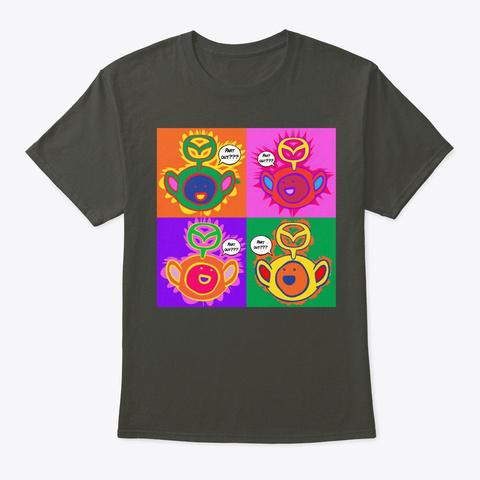 Maztubbies   Pop Art Smoke Gray T-Shirt Front