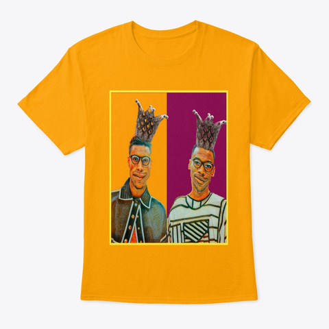 Same Gold T-Shirt Front