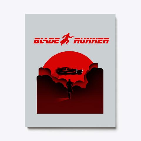 Blade Runner Light Grey T-Shirt Front