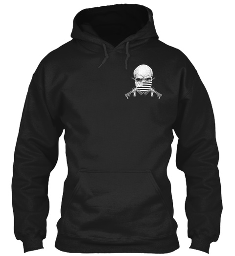 Isis Hunting Permit! Black Sweatshirt Front