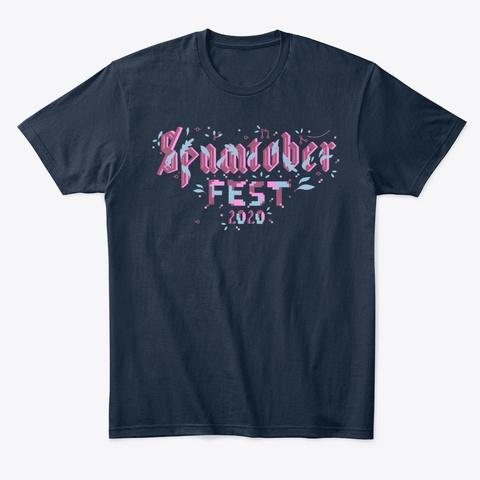 #Spamtoberfest 2020 Navy T-Shirt Front