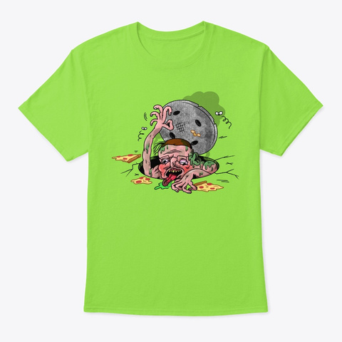 Sewer Ricky Lime T-Shirt Front