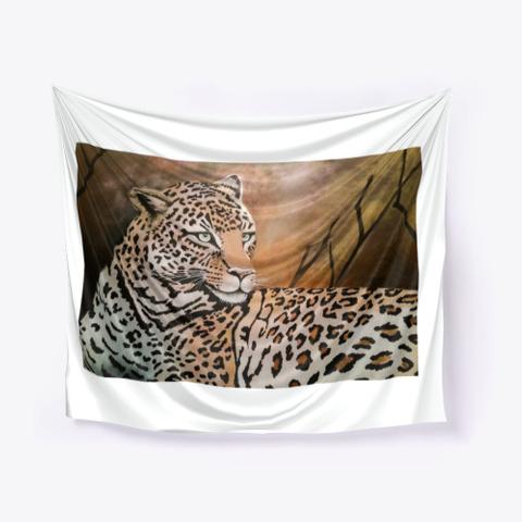 Leopard   Art Of Jameela Standard T-Shirt Front