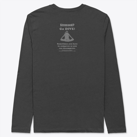 "Pdc Long Sleeve ""Dive"" 4 Black T-Shirt Back"