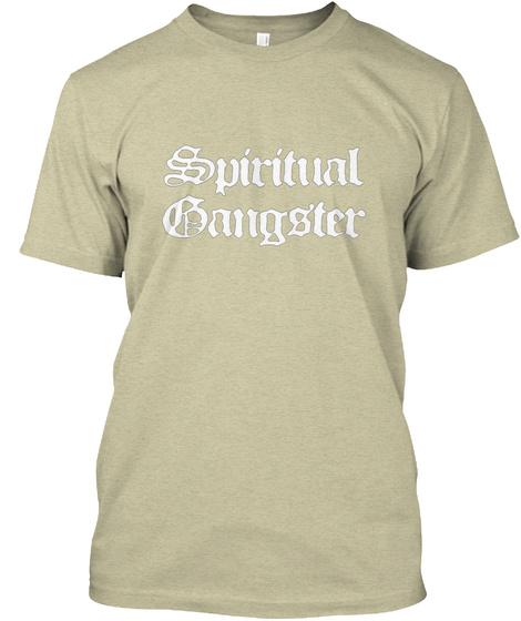 Gangster Oatmeal T-Shirt Front