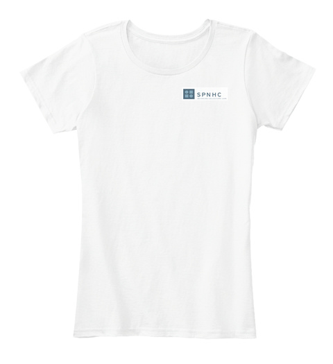 Spnch  White T-Shirt Front