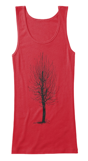 Tank Tops For A Cause Red T-Shirt Front