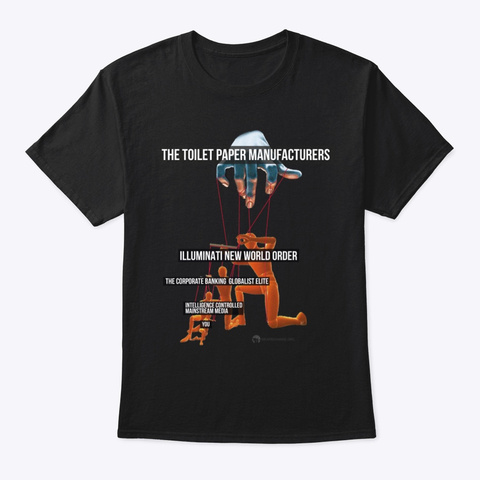 The Global Puppet Structure Black T-Shirt Front
