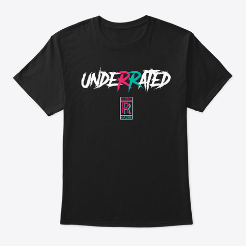 Unde R Rated Black T-Shirt Front
