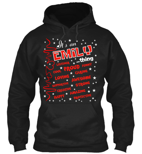 Emily Thing   Proud To Be Black T-Shirt Front