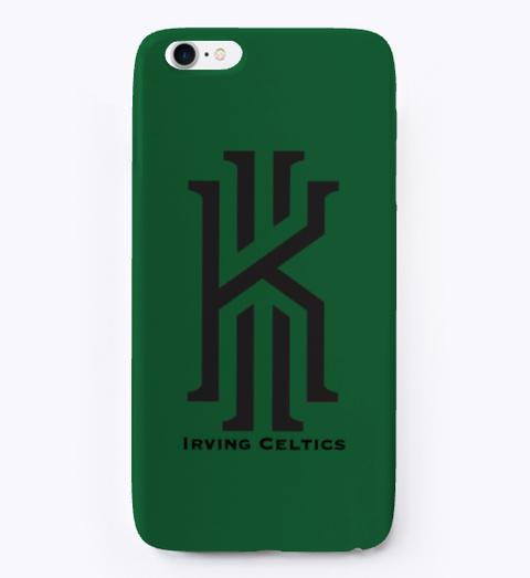 Boston Basketball Dark Green T-Shirt Front