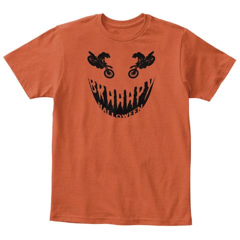 O/ I Deep Orange  T-Shirt Front