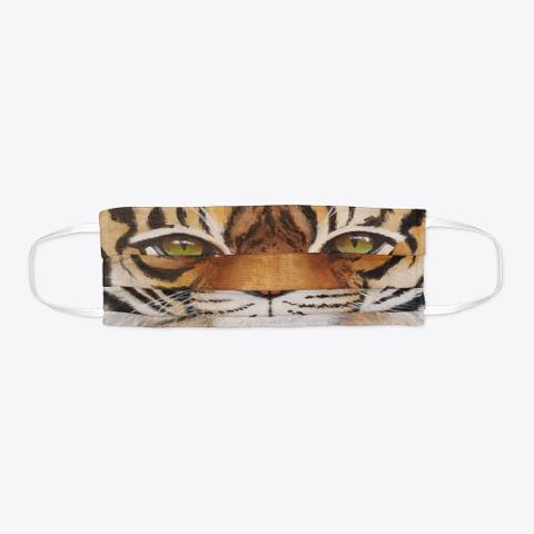 Tiger Face Mask Standard T-Shirt Flat