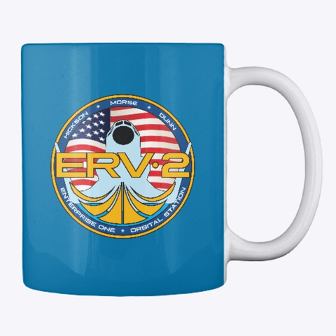 Official Erv2 Mug Royal Blue Mug Back