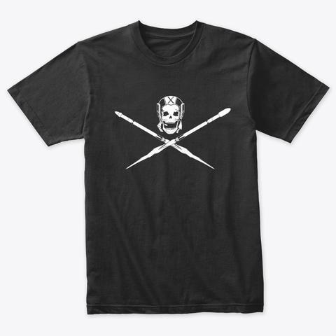 Jolly Rocket Vintage Black T-Shirt Front