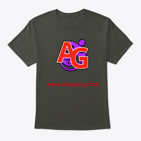 Classic Tee Smoke Gray T-Shirt Front