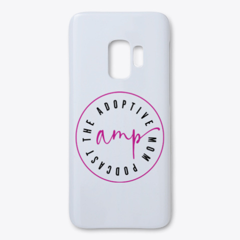 Samsung Phone Case White T-Shirt Front