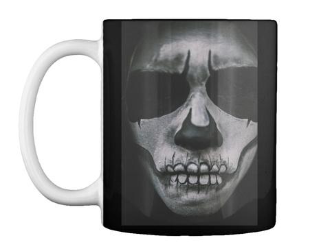 Psycho Halloween Mug! Black Mug Front
