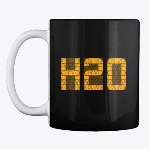 H2 O (Mug) Black T-Shirt Front